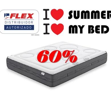Rebajas de verano. ¡Compre ahora y ahorre!  En Miluna Flex...el mejor precio Flex de Bizkaia