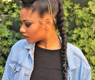 Trenzas y peinados africanos