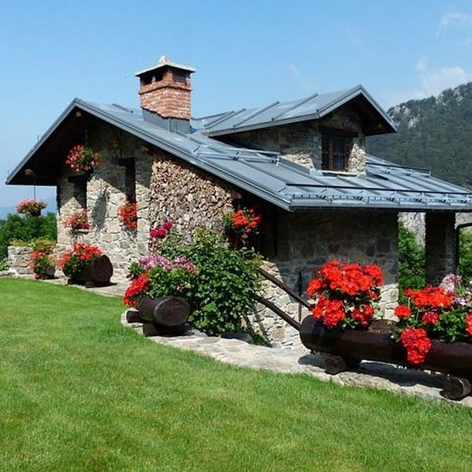 Disfrutar de una casa de campo