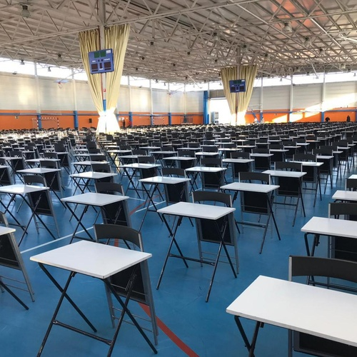 Alquiler puestos de examen