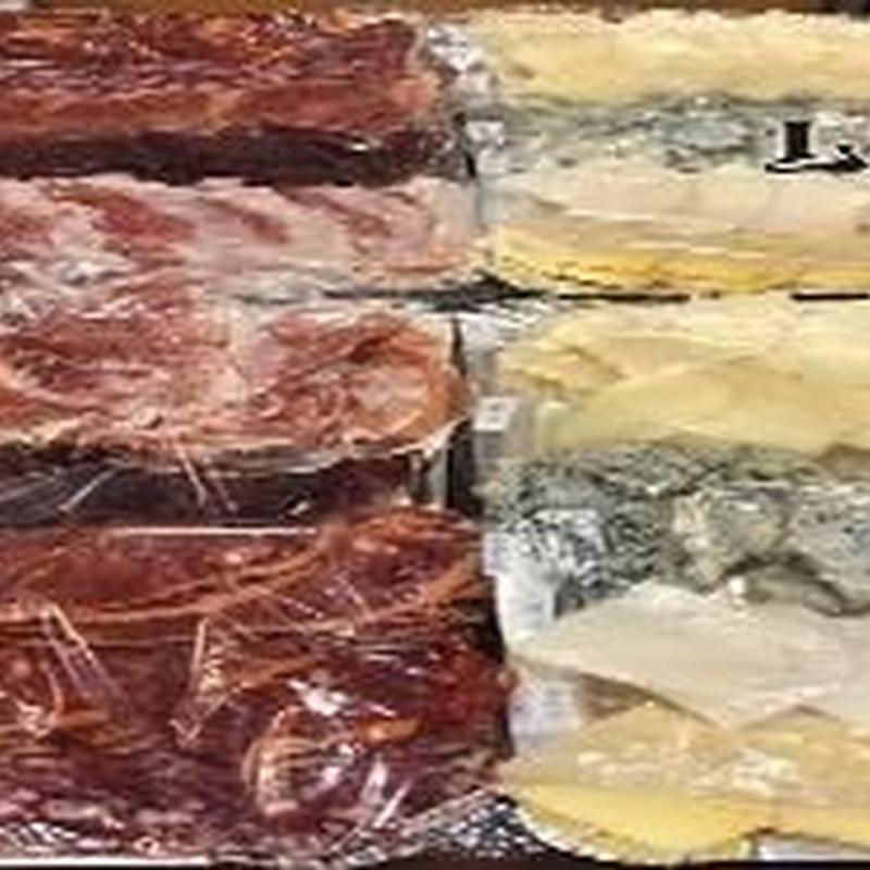 Tabla de embutido serrano: Nuestros productos de LLAR