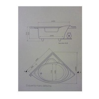 Modelo Arco 1,40 x 1,40: Nuestros productos de Aqua Sistemas de Hidromasaje