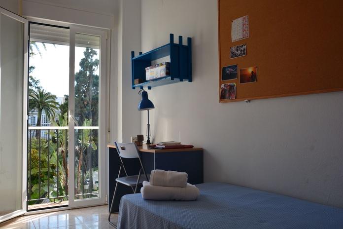HABITACIONES: RESERVA TU PLAZA  de Residencia de Estudiantes Cádiz Centro