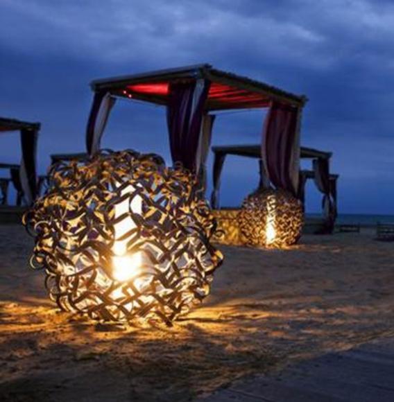 LAMPARA EXTERIOR METALICA.: PRODUCTOS de El Búho | Iluminación en Barcelona