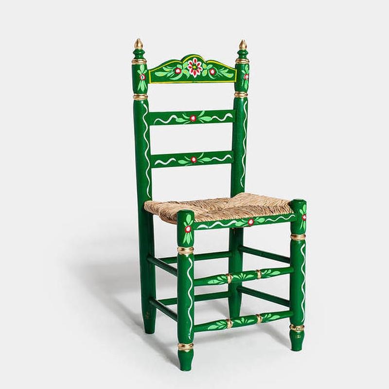 Silla sevillana verde: Catálogo de Jedal Alquileres