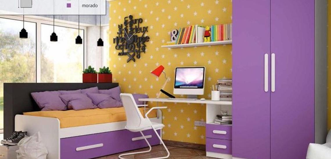 Dormitorios juveniles a medida en Getafe