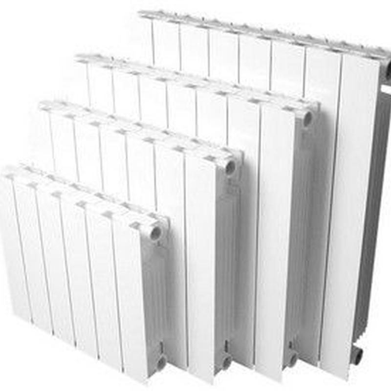 Radiadores: Productos y Servicios de Saneamientos Yagüe Instalaciones