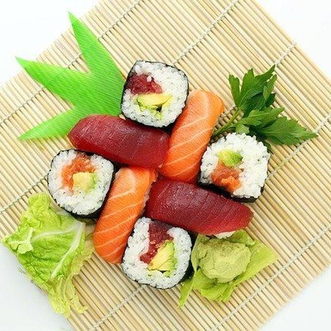El equilibrio de un menú japonés tradicional