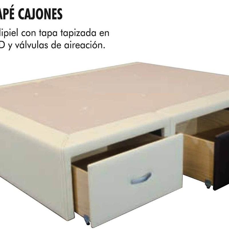 Canape con Cajones.