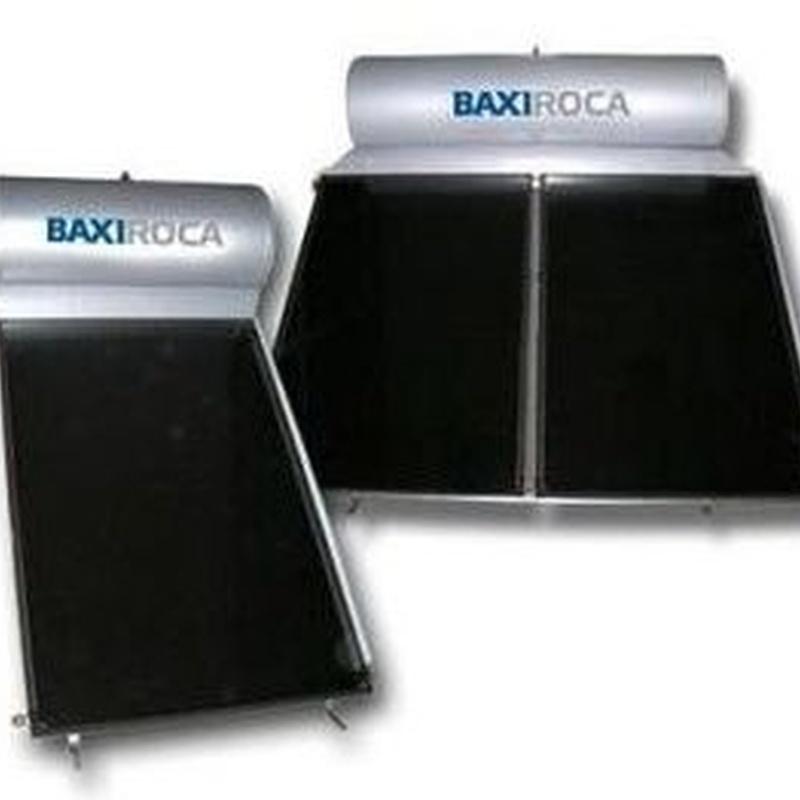 Sistema solar térmico compacto por termosifón Baxi STS 200-2.0