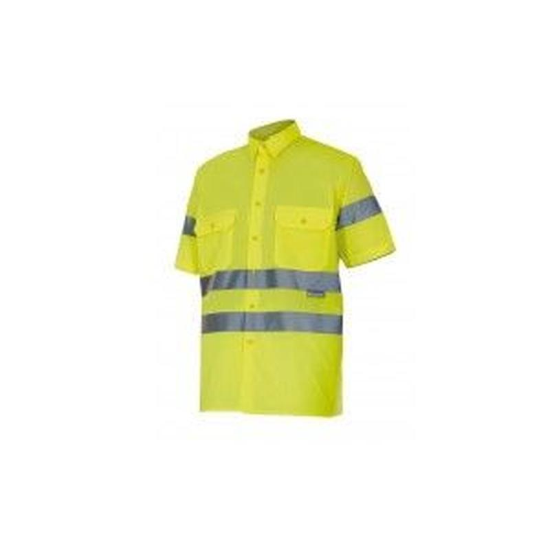 Serie 141 / Camisa manga corta alta visibilidad: Nuestros productos  de ProlaborMadrid