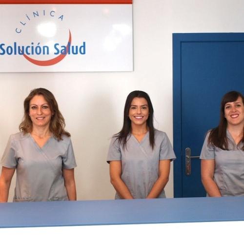 Equipo de la clínica Solución Salud