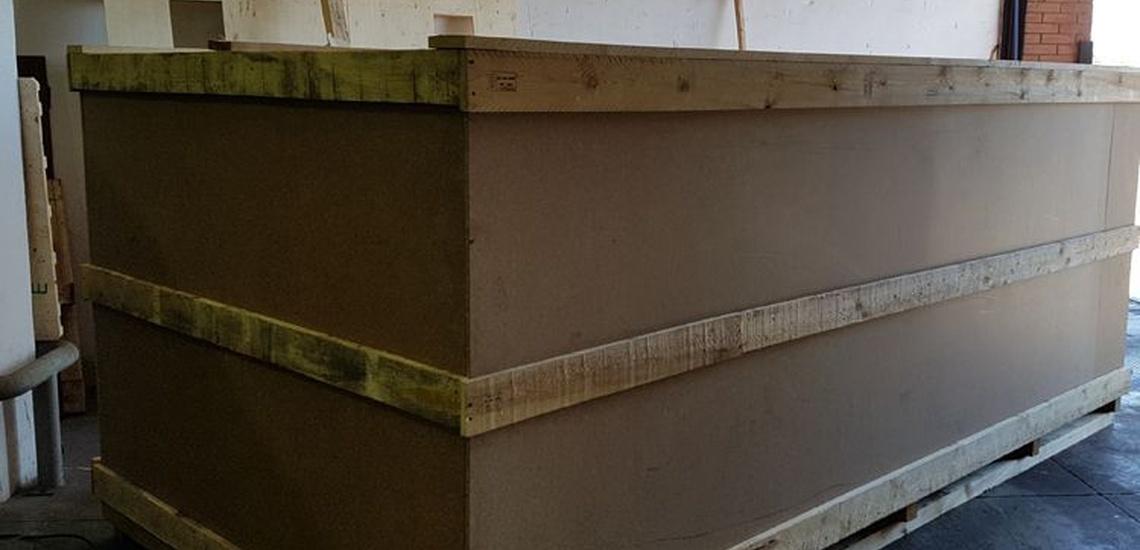 Embalajes de madera en Mataró para el transporte seguro de todo tipo de mercancías