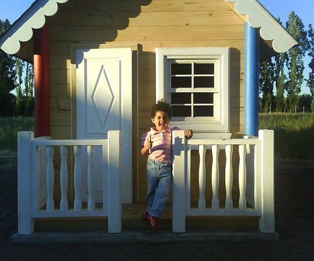 Las ventajas de construir una casa de madera para niños