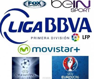 Movistar+  con todos los deportes incluido fútbol Bar Restaurante Sevillano.