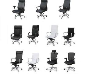 Amplia variedad en sillones de dirección