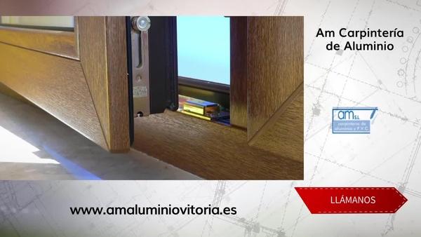 Cerramientos de terrazas en Vitoria: Am Carpintería de Aluminio
