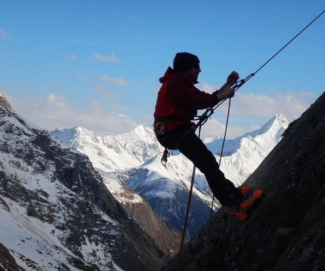 Las prendas del alpinista
