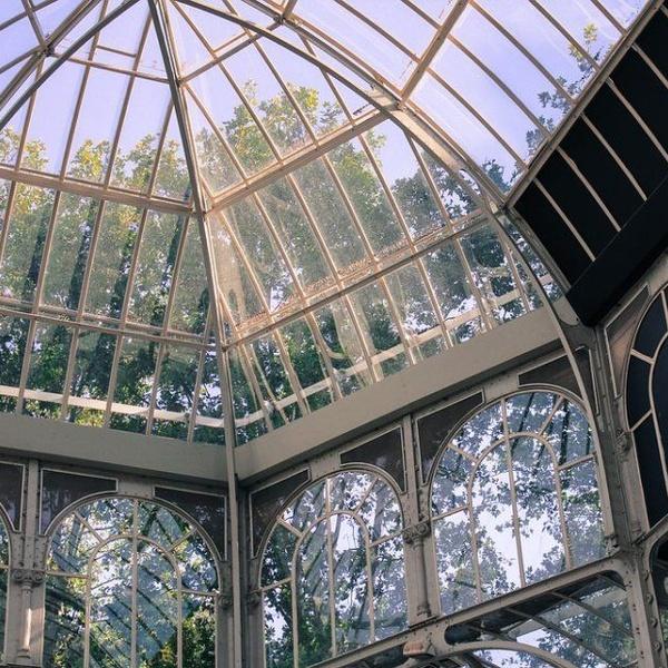Los edificios de cristal y metal