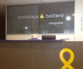 Litigación y Arbitraje: Productos y Servicios de Cantalejo & Bollero
