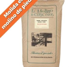 Harina de trigo ecológica integral W-200 25 kg: Productos de Coperblanc Zamorana