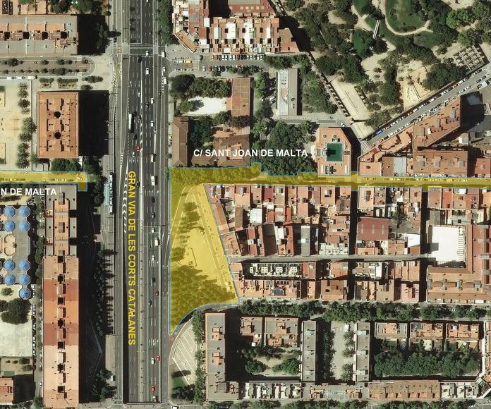 Proyecto constructivo para la reurbanización de la C/ Sant Joan de Malta: Trabajos de MasterPlan