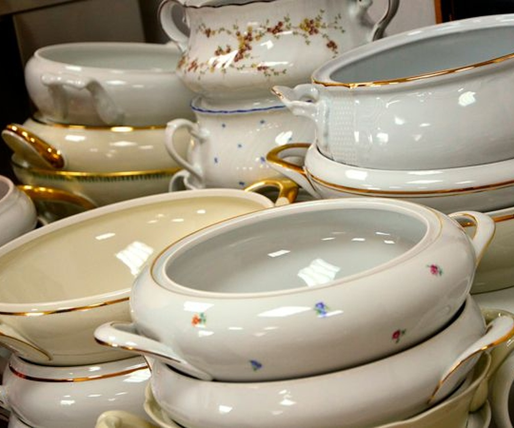 ¿Sabes distinguir objetos de loza y porcelana?