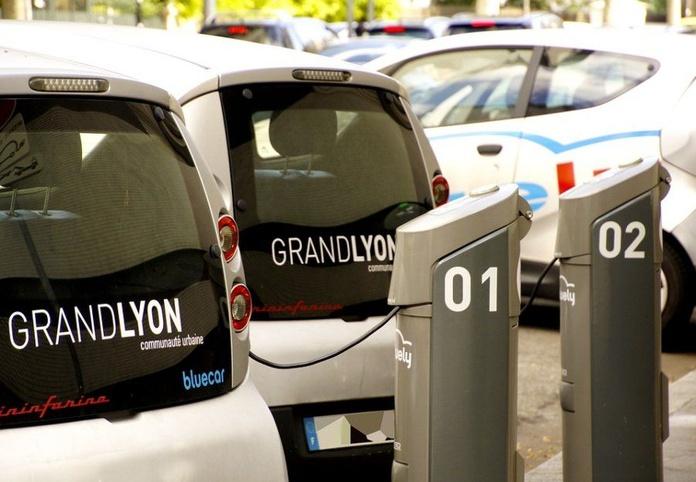 Puntos de carga eléctricos para vehículos