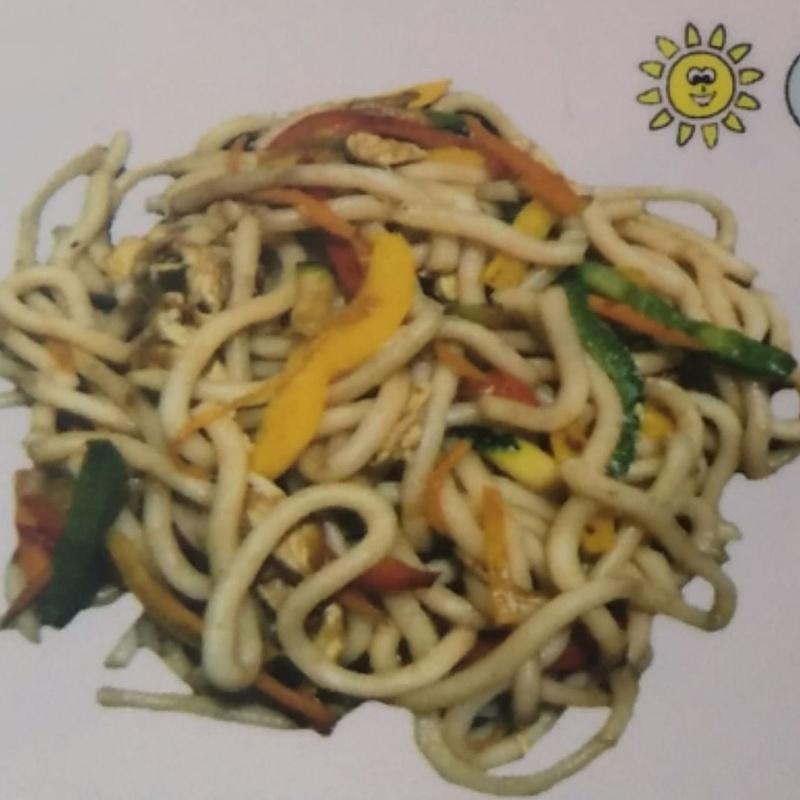 Fideos udon: Carta de Sushi Time Buffet Libre