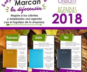 ¡Comienza el año bien organizado con nuestras agendas 2018!
