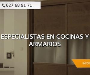 Muebles de cocina a medida en Badajoz: Cocinas y Armarios Juan Mora