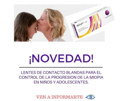CONTROL DE MIOPIA  PARA NIÑOS Y ADOLESCENTES
