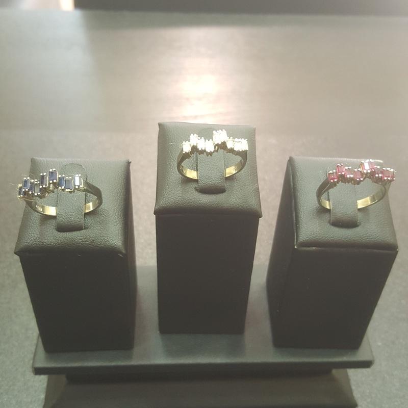 Juego 3 anillos oro blanco: Compra Venta de Oro y Plata de MR. SILVER & GOLD