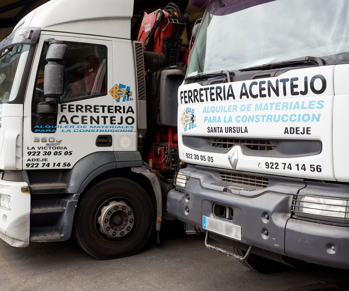 Camiones Grúa: Servicios de Servicios Tracentejo, S.L.