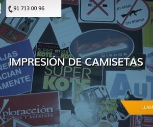Empresas de serigrafía en el centro de Madrid | Arteser Seriigrafía