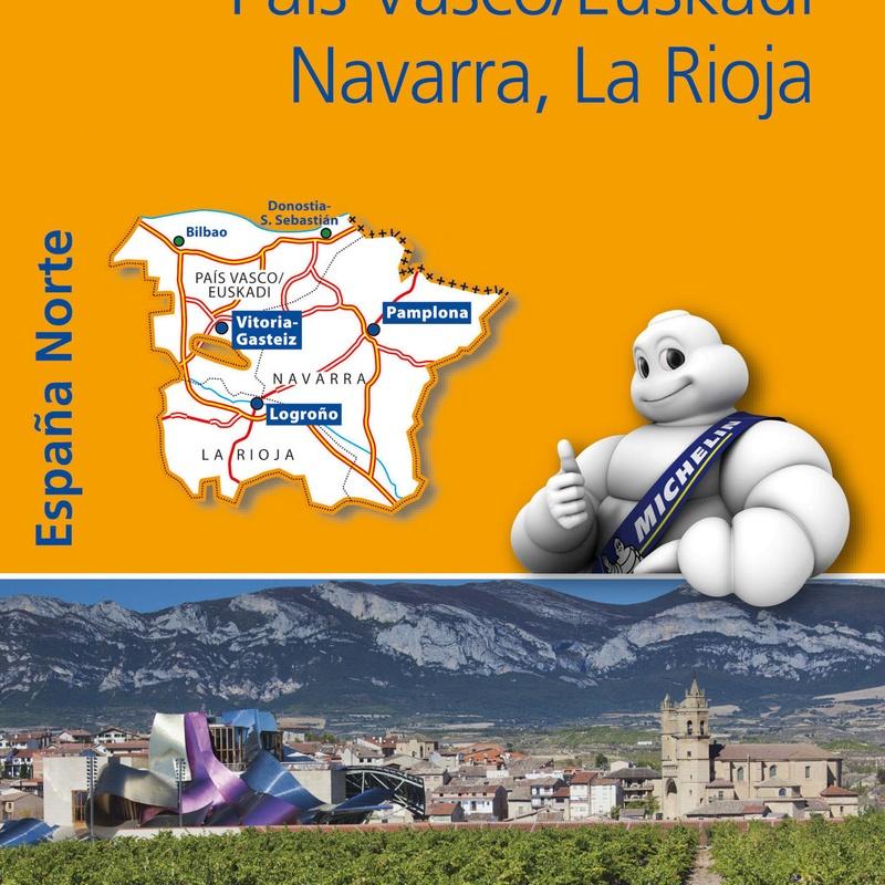 MAPA CARRETERAS REGIONAL PAIS VASCO/EUSKADI,NAVARRA. MICHELIN