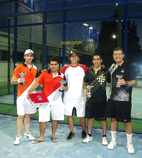 Play off final ranking padel