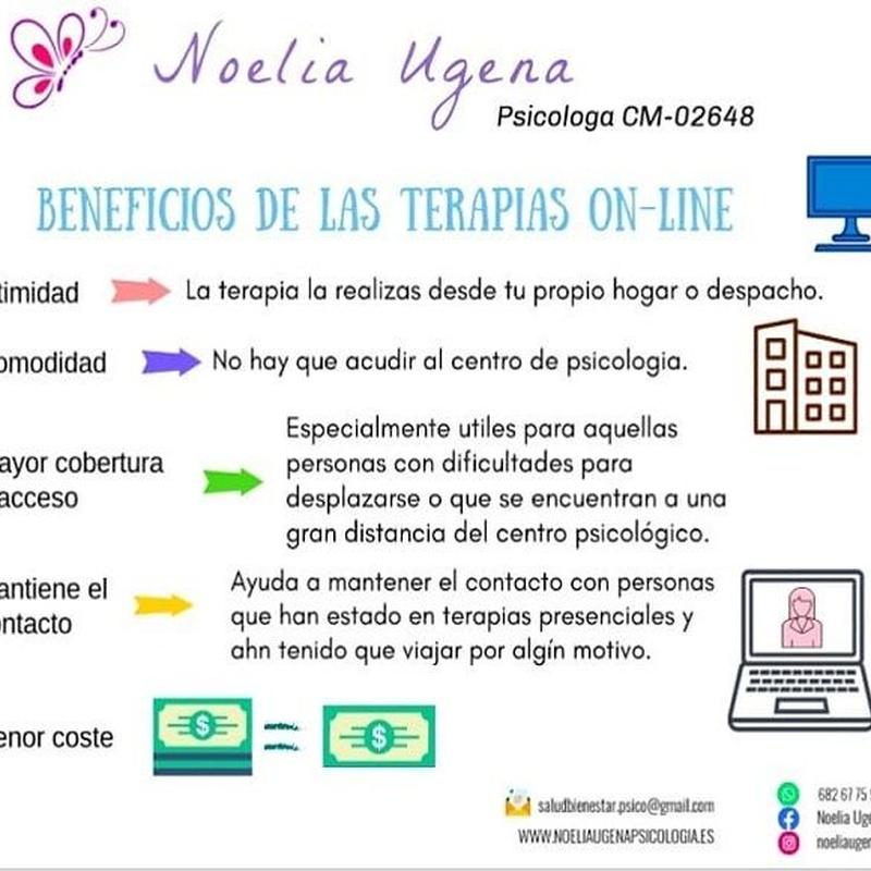 Terapia On-line Psicóloga Noelia Ugena
