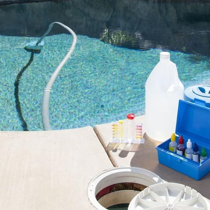 Limpiafondos para la piscina