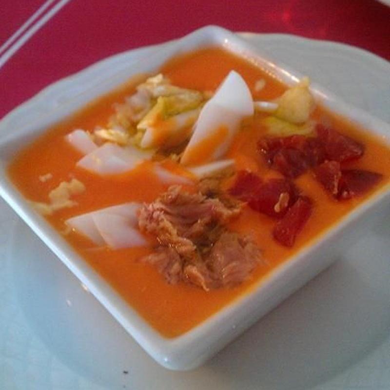 Entradas frías: Carta y menús de El Reservado Restaurante
