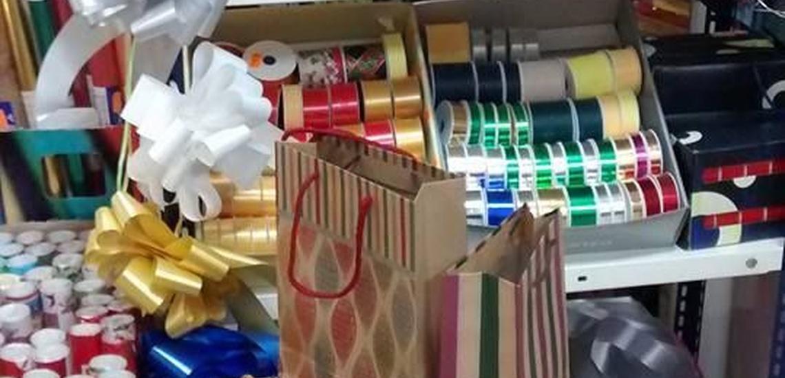 Papel de regalo y encuadernación con espiral en El Arenal