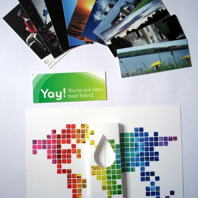 Colores y formatos para cada tipo de tarjeta