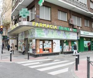 Farmacia en el Barrio de Salamanca (Madrid)