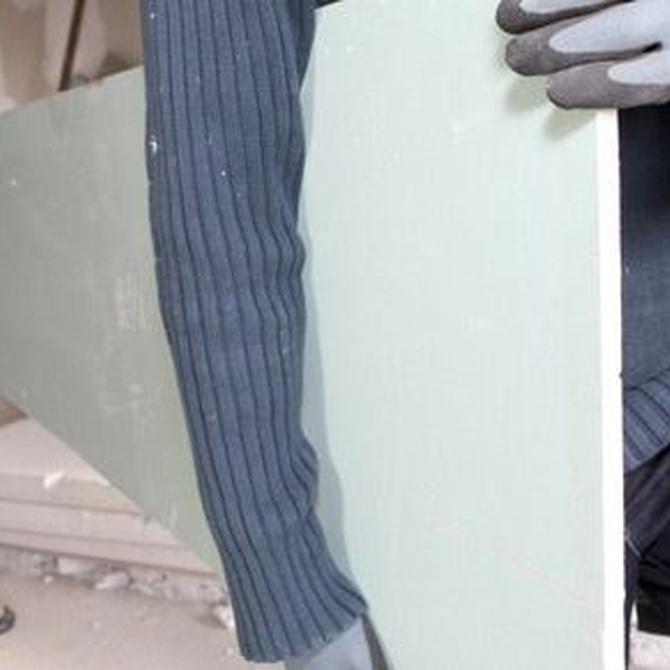 La placa de yeso laminado Knauf