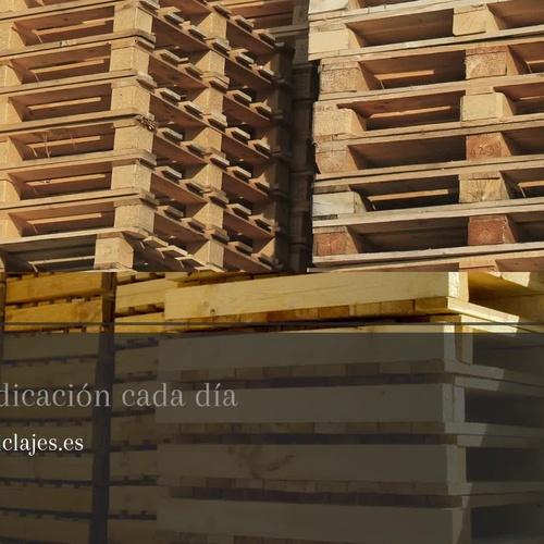 Palets usados en Málaga | Carcosa Reciclajes