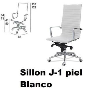 OFERTA SILLONES DE PIEL BLANCOS