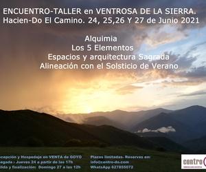 """Encuentro-Taller en """"Ventrosa de la Sierra""""- La Rioja. 24-25-26 y 27 de Junio 2021"""