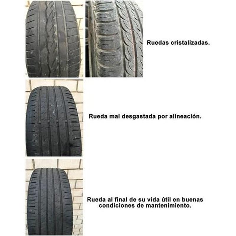 Alineaciones y equilibrado: Servicios de Ecorueda Villalba