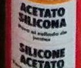Acetato silicona