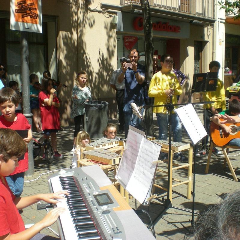 concert Fira d'artesania de Cardedeu 1 de juny 2014